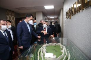 Çevre ve Şehircilik Bakanı Murat Kurum Sultanbeyli'de