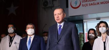 Erdoğan, sağlık çalışanlarıyla iftarının ardından açıklamalarda bulundu