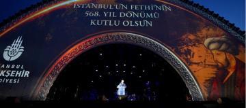 İSTANBUL, FETHİ'Nİ KUTLADI
