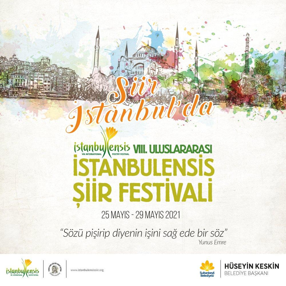 VIII. Uluslararası İstanbulensis Şiir Festivali Yunus Emre Temasıyla Başlıyor!