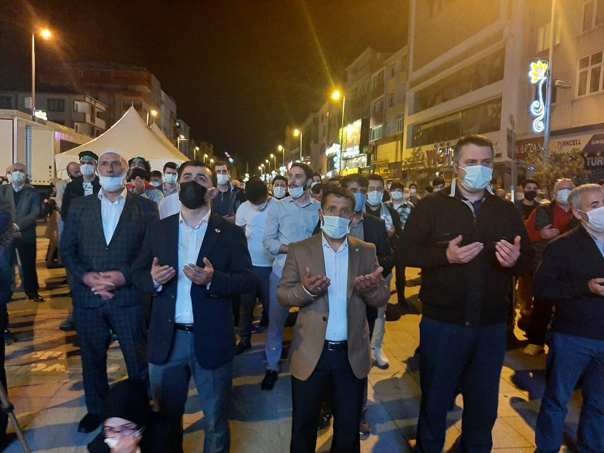 Sultanbeyli'den Protesto Sesleri Yükseldi