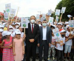Yeni Park Çevre Elçileriyle Açıldı