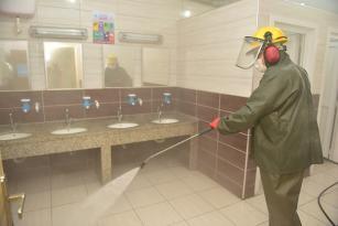 Tuzla'da Okullar Ozon Yıkama Yöntemi İle Dezenfekte Edildi