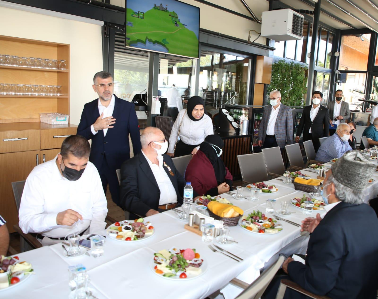Sultanbeyli'de Gaziler Günü Programı Düzenlendi