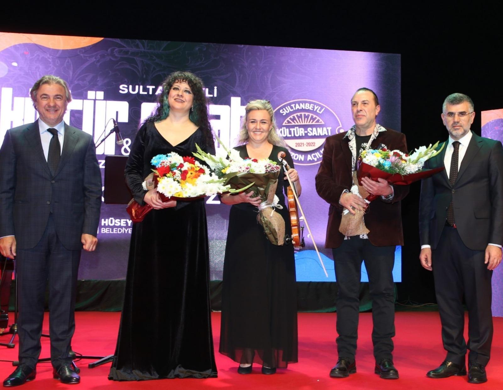 Sultanbeyli'de Kültür-Sanat Sezonu Can Atilla Konseriyle Açıldı