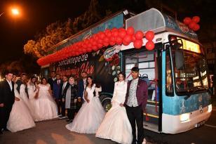 Roman çiftlere toplu nikah töreni